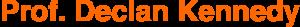 Prof-Declan-Kennedy-Logo-Schrift