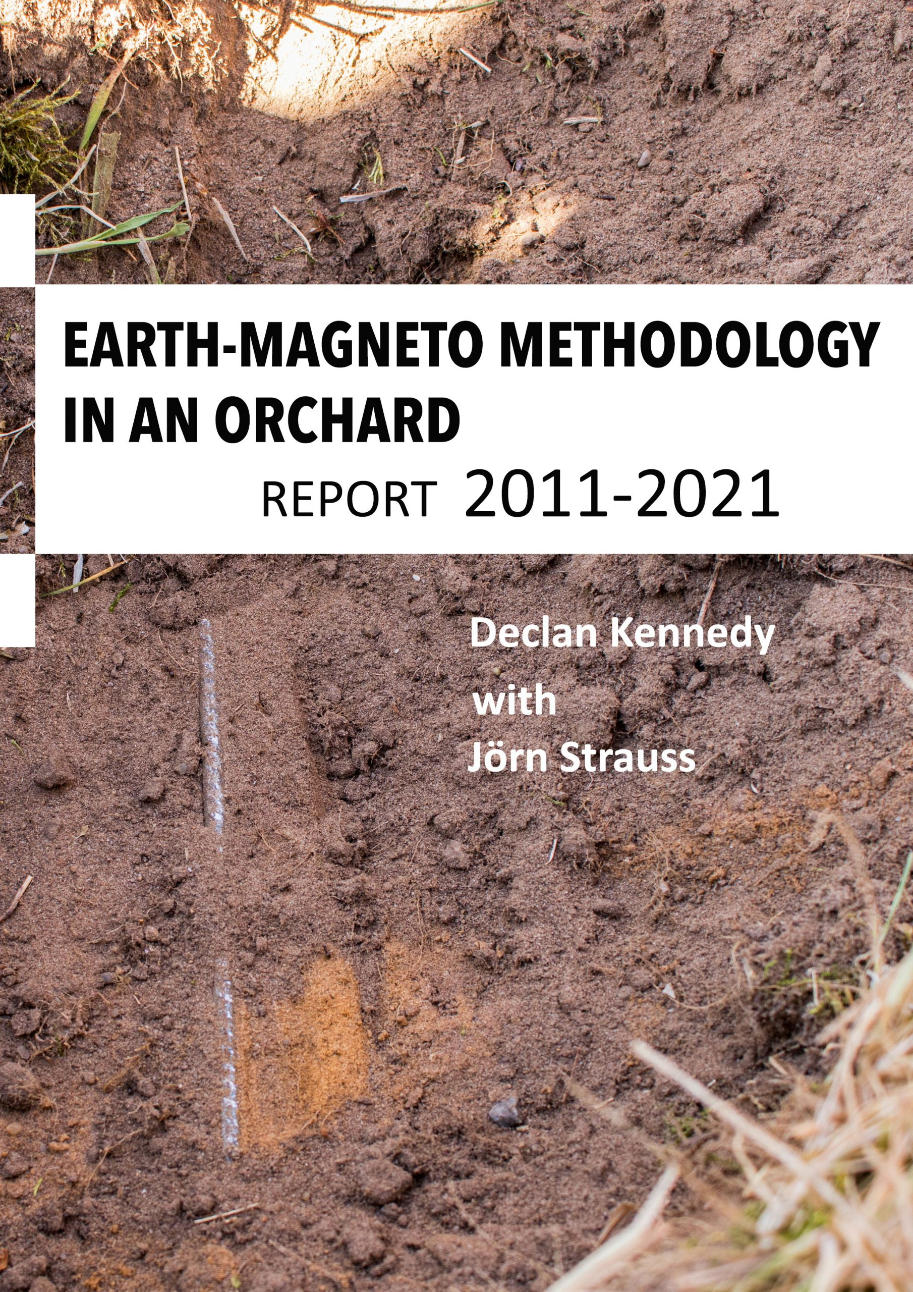 Earth-Magneto Methodology in an Orchard